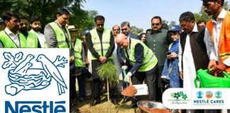 Nestlé Pakistan and Metropolitan Corporation Islamabad commence tree plantation in the Capital