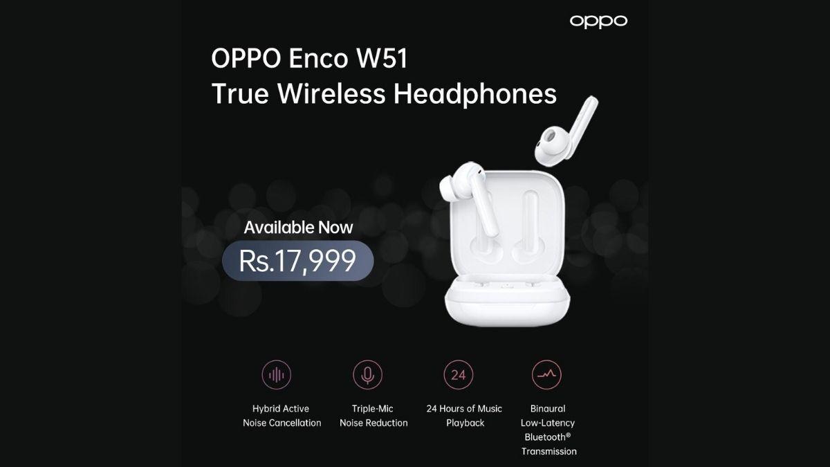 OPPO Enco W51 headphones
