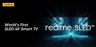 Realme Announces SlED Tv
