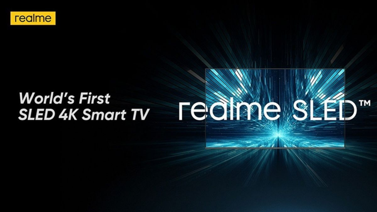 Realme Announces SlED Tv
