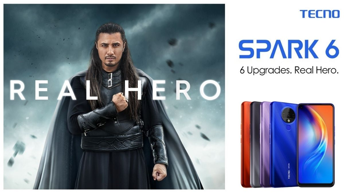 TECNO launched its Hero Phone Spark 6 in Pakistan