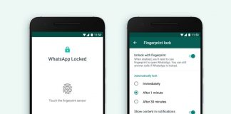 WhatsApp Web to get Fingerprint Verification
