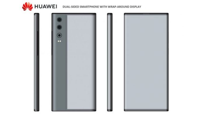 Wrap around display from Huawei