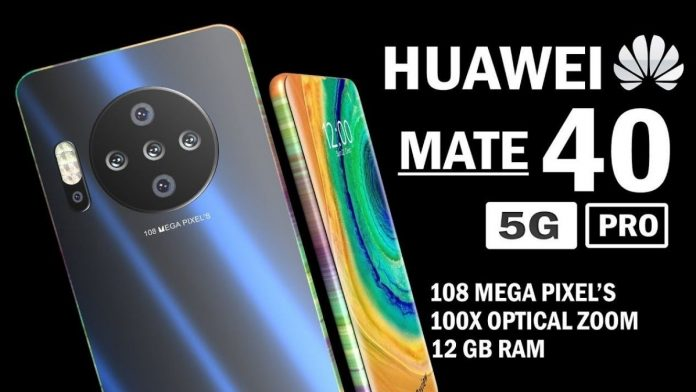 Huawei announce the Mate 40 Pro