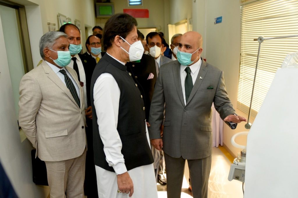 PM Khan opens Pakistan first stent production facility in NUST