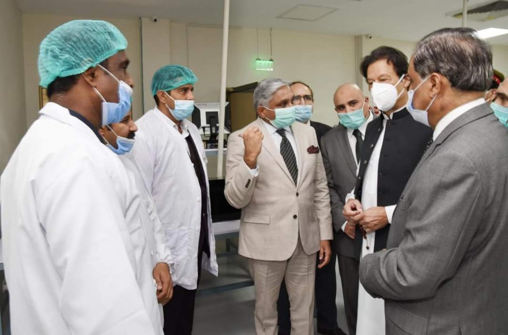 Prime Minister Imran Khan opens Pakistan first stent production facility in NUST