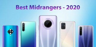 Top Picks in Mid-level Smartphones of 2020