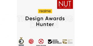 realme Trendsetting Design is on the International Stage;