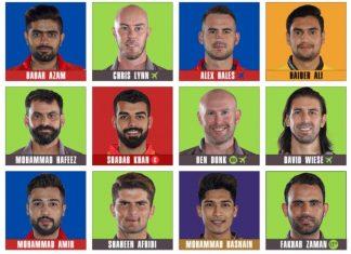 HBL PSL 2020 Team