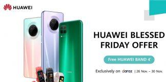 Huawei Blessed Friday Sale HUAWEI Nova 7i and HUAWEI Y9a