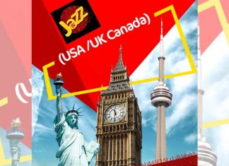 Jazz Offers Great Packages For Canada and US