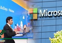 Microsoft in Collaboration with Sindh Govt organizes Education Days