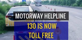 Motorway Helpline Calls Made Free