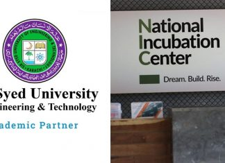 NIC Program Startups Demonstration & Pitching Session Held at SSUET Karachi