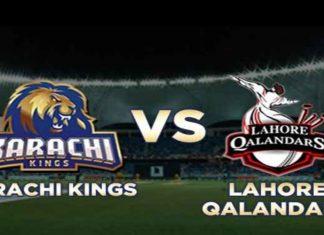 PSL 2020 Final Karachi Kings vs Lahore Qalanders