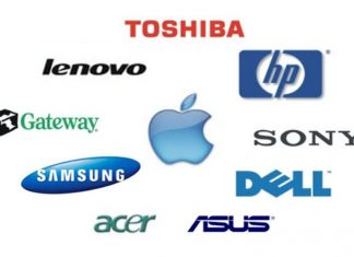 Top laptop companies