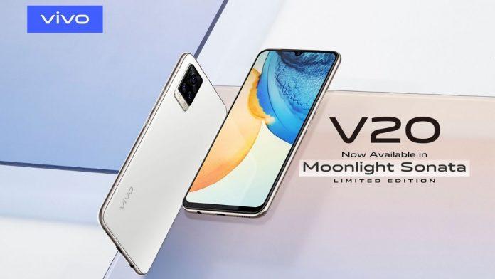 V20 smartphone in Pakistan