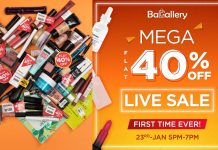 Bagallery presents the 1st Mega Sale of the Year_ Flat 40% & above