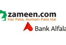 Bank Alfalah and Zameen.com