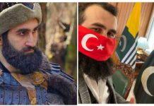 Ertugrul star Celal Ali believes Kashmir is Pakistan