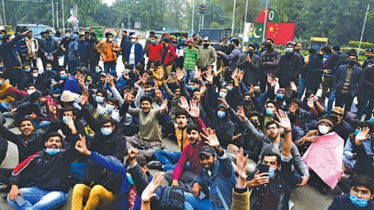 Face-off Between Police and Students as Protests Against Exams Continue