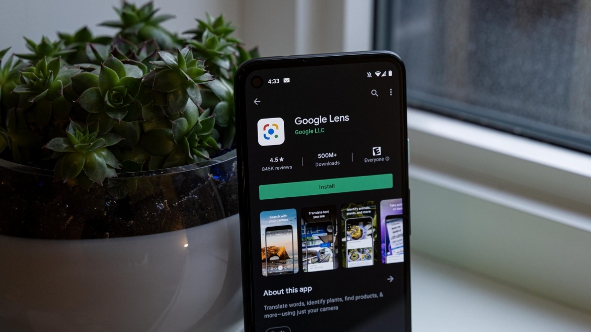 Google lens on the receiving end of offline translation support on Android