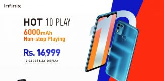 Infinix Hot 10 Play Price