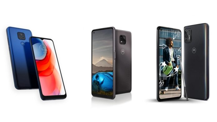 Motorola unveil 2021 G Stylus G Play and G Power smartphones