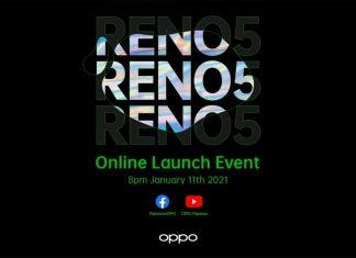 OPPO Reno5 online launch event