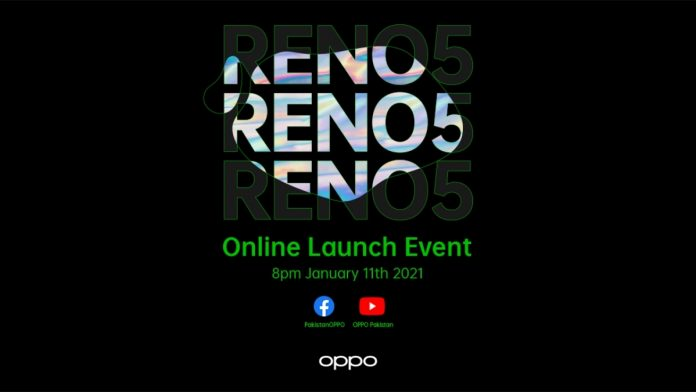 OPPO Reno5 online launch event