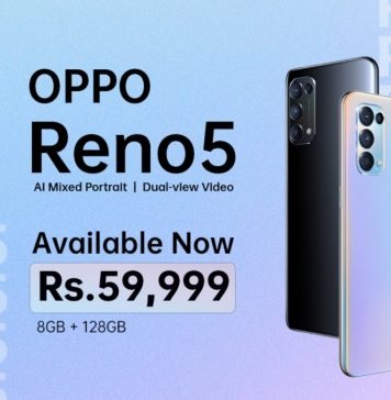 Price of OPPO Reno5