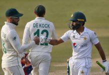 South Africa vs Pakistan test match Fawad Alam Dekock